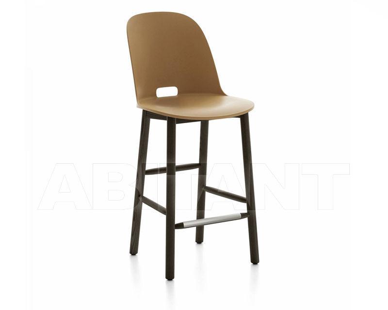 Купить Барный стул Emeco Alfi by Jasper Morrison ALFI24DAHSAND