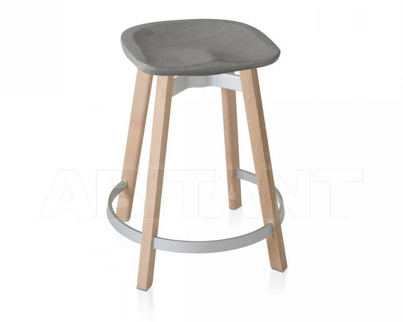 Купить Барный стул Emeco Su by Nendo SU 24 WOOD CS