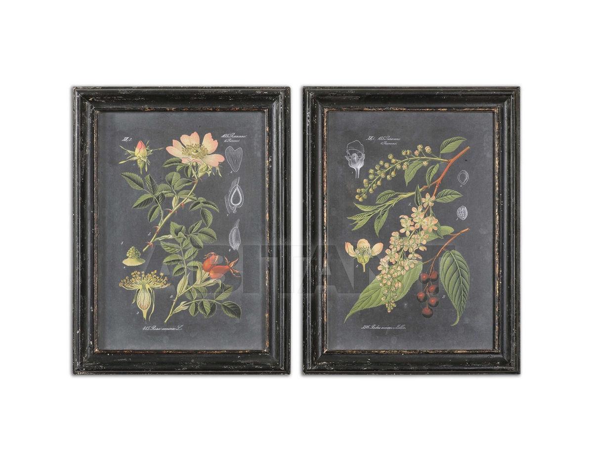 Купить Картина Midnight Botanicals Uttermost Art 56053