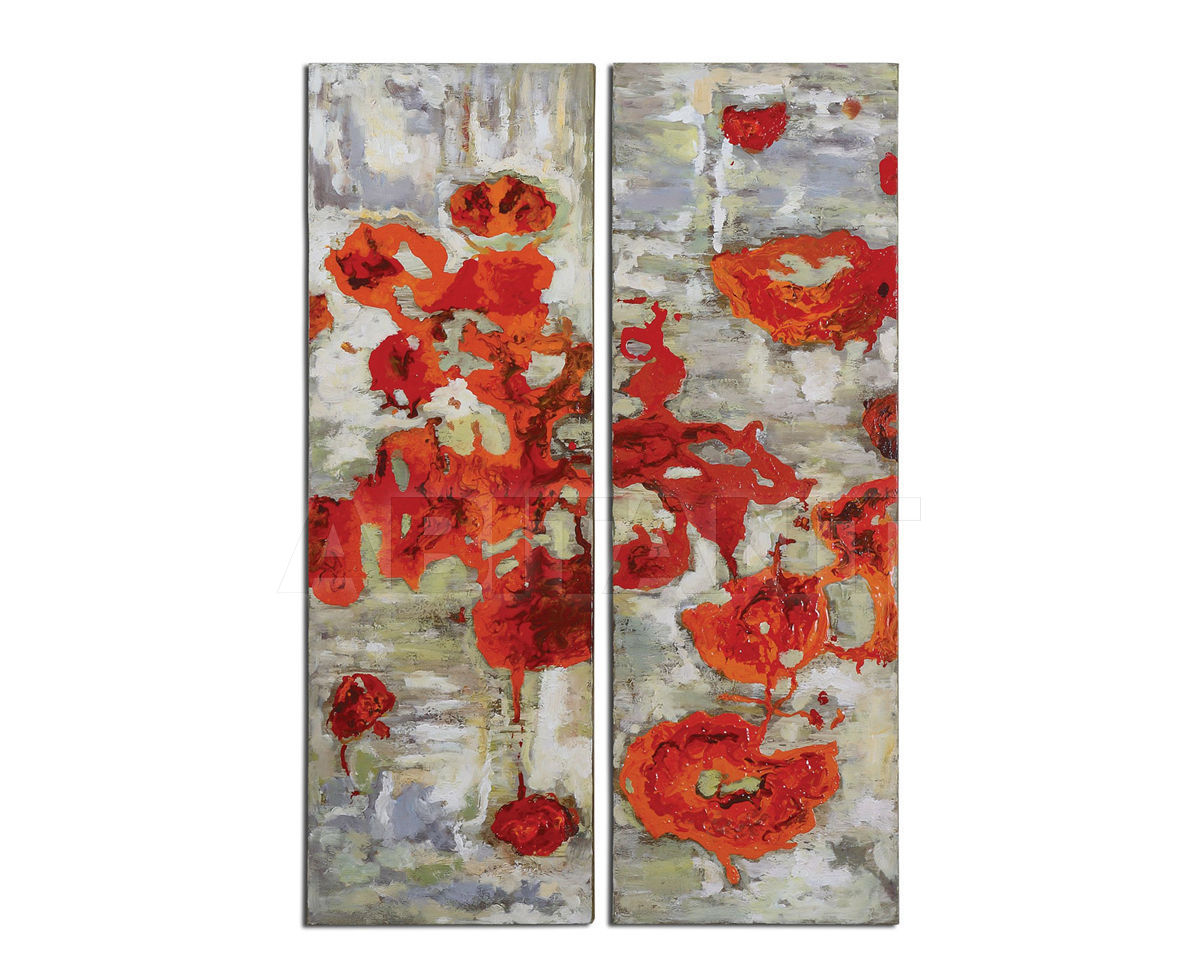 Купить Картина Scarlet Poppies Floral  Uttermost Art 31201