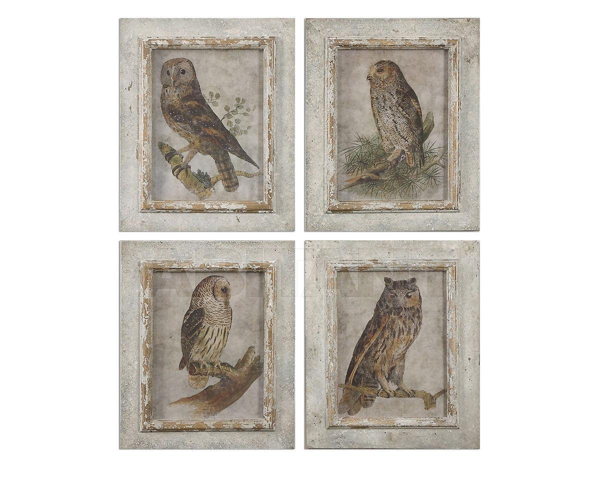 Купить Композиция Owls Framed Uttermost Art 56061
