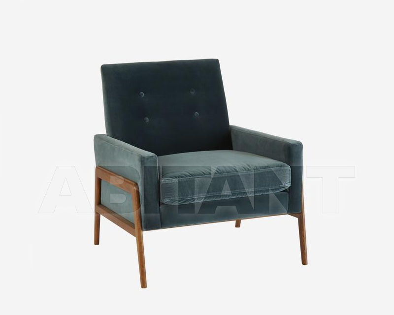 Купить Кресло Andrew Martin Origin JAGGER CHAIR, petrol