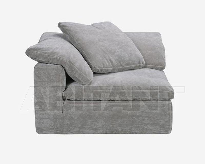 Купить Кресло Andrew Martin Signature TRUMAN LRG CORNER SECTION, grey velvet