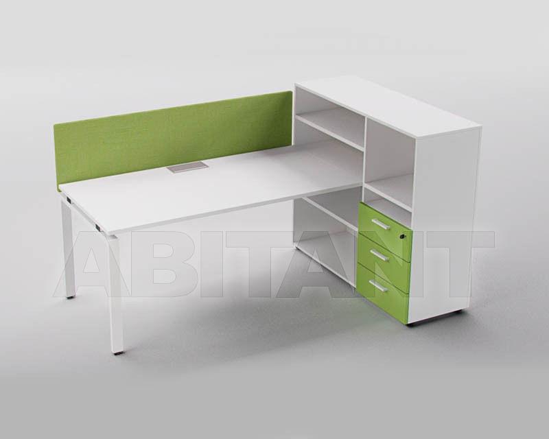 Купить Стол для персонала CASTELLI  1877 6.3 scrivania personal verde