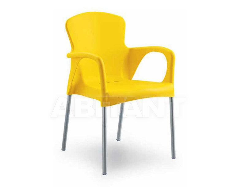 Купить Стул с подлокотниками BETTY Contral Indoor 400 03 = giallo