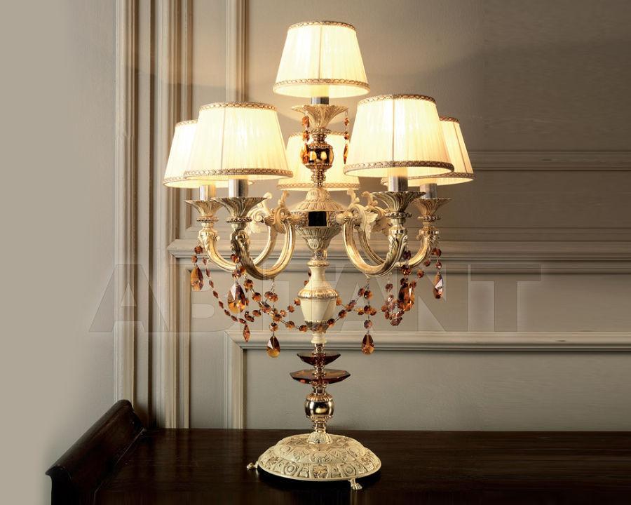 Купить Лампа настольная Ciciriello Lampadari s.r.l. Lux Petra Lampada 5 + 1 luci