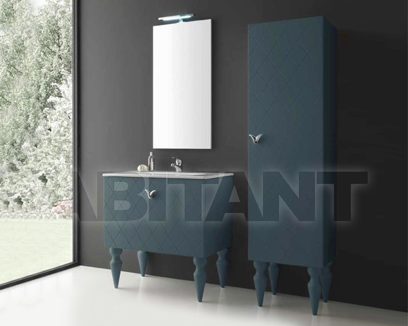 Купить Композиция Ciciriello Lampadari s.r.l. Bathrooms Collection COCO' 80 Blu polvere