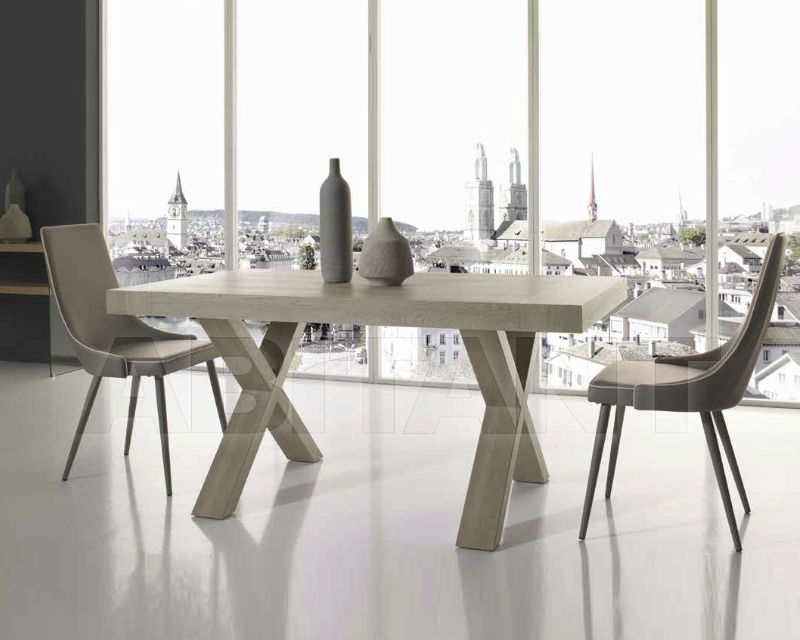 Купить Стол обеденный Ciciriello Lampadari s.r.l. Capodarte paride grigio gessato