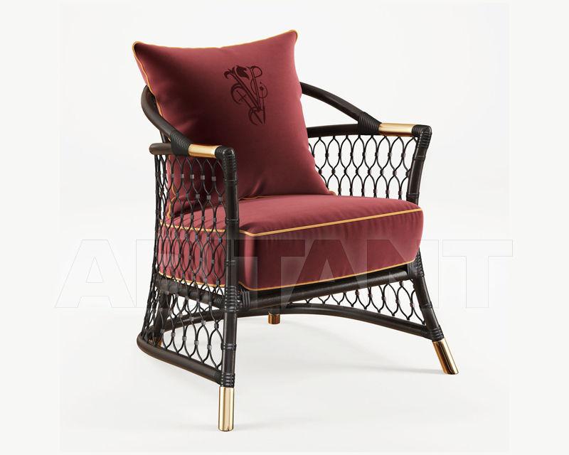 Купить Стул с подлокотниками Visionnaire 2019 FARNESE Chair in natural rattan wicker