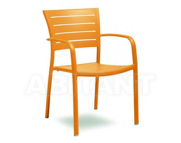 Купить Стул с подлокотниками MICHELLE Contral Outdoor 701 11 = orange