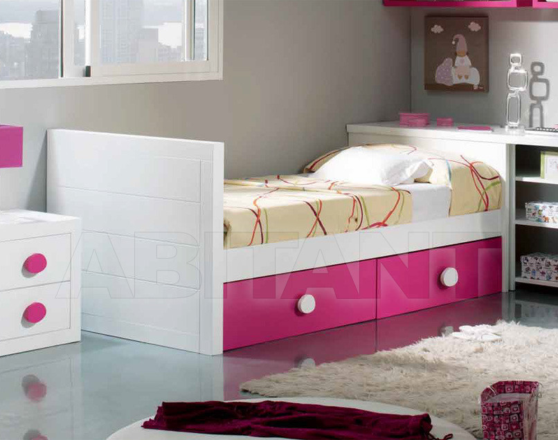 Купить Кровать детская Trebol Juvenil Silver 01.02.241
