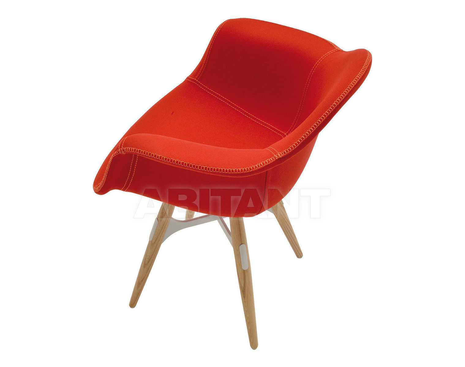 Купить Кресло Kubikoff Kubikoff Lab Tailored'(red)'