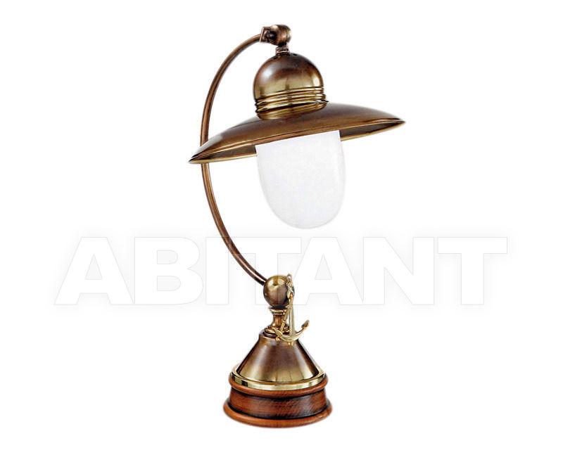Купить Лампа настольная Cremasco Illuminazione snc Vecchioveneto 0480/1LA-BRSF-BI