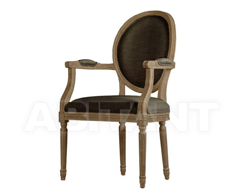 Купить Стул с подлокотниками Louis Arm Chair Gramercy Home 2014 441.001-H02