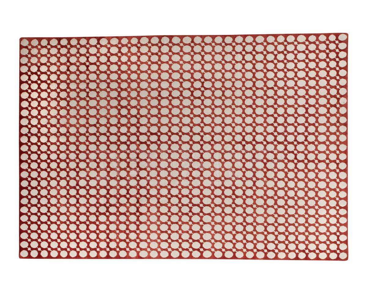Купить Ковер современный The Rug Company Neisha Crosland Diagonal Bead Red
