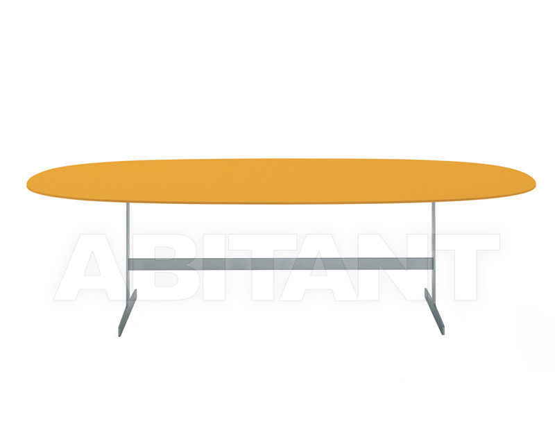 Купить Стол обеденный Cappellini Milan 2014 SIMPLON orange