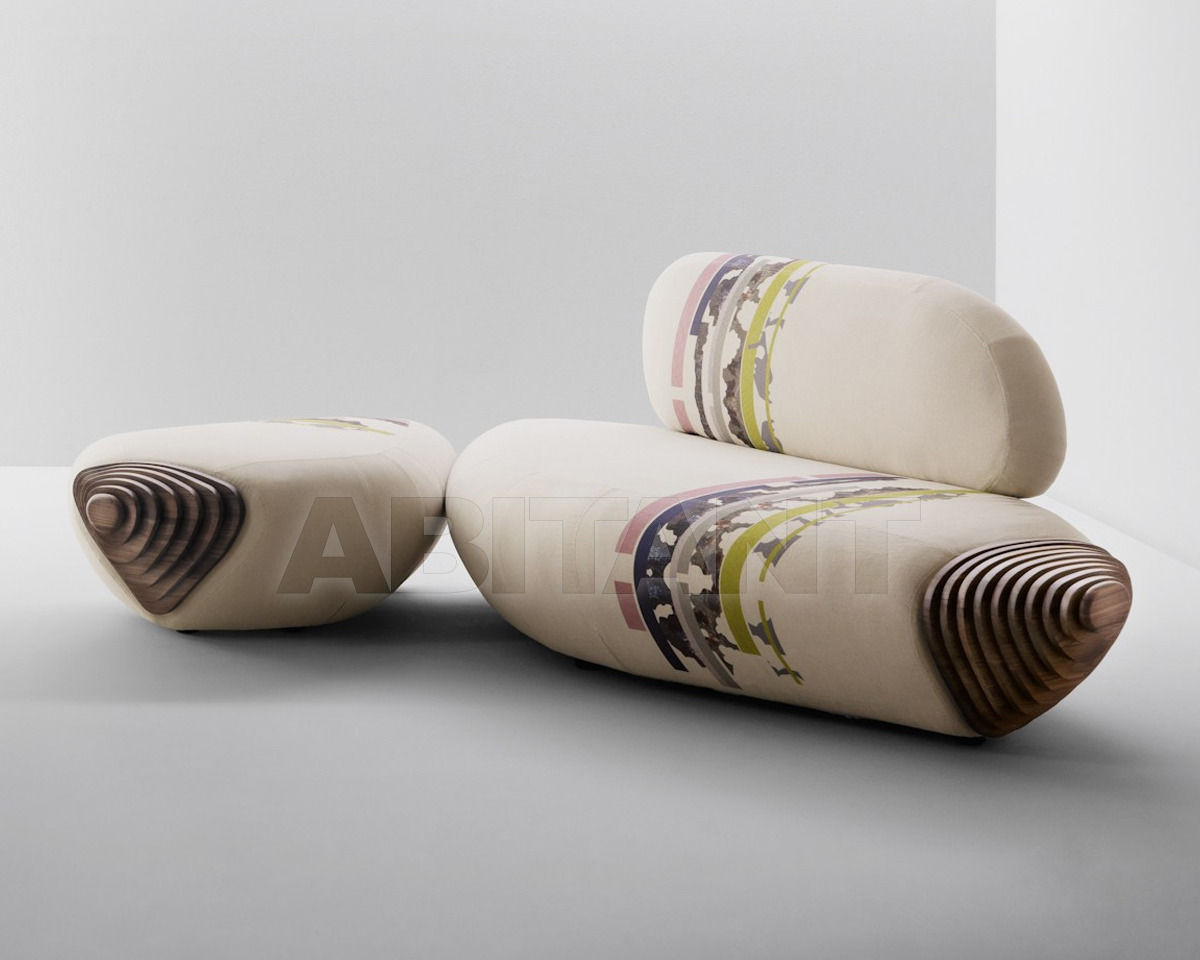 Купить Диван Passoni Nature Home BOTAN sofa noce + BOTAN penisola noce