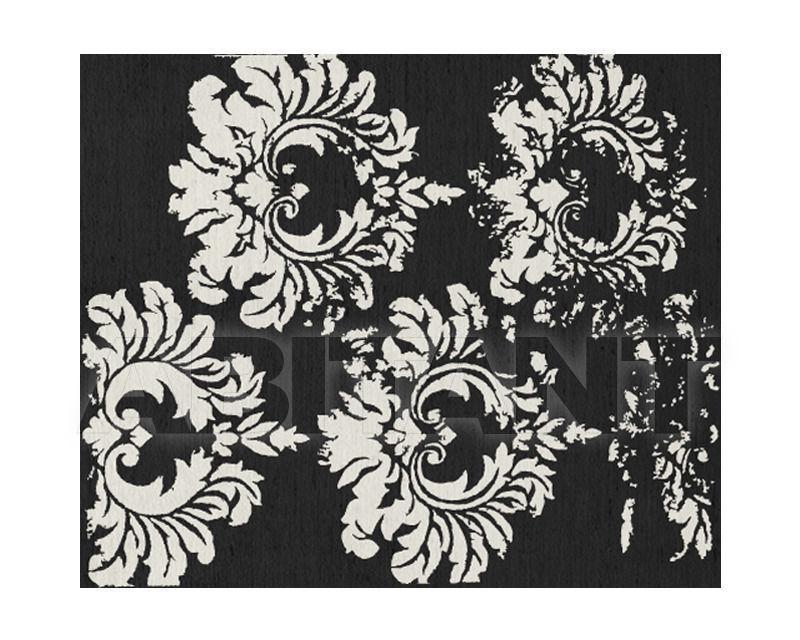 Купить Ковер современный Sahrai Milano Noor Old Damas Black