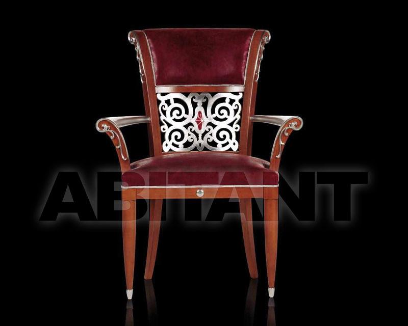 Купить Стул с подлокотниками Asnaghi Interiors Decoras OR302