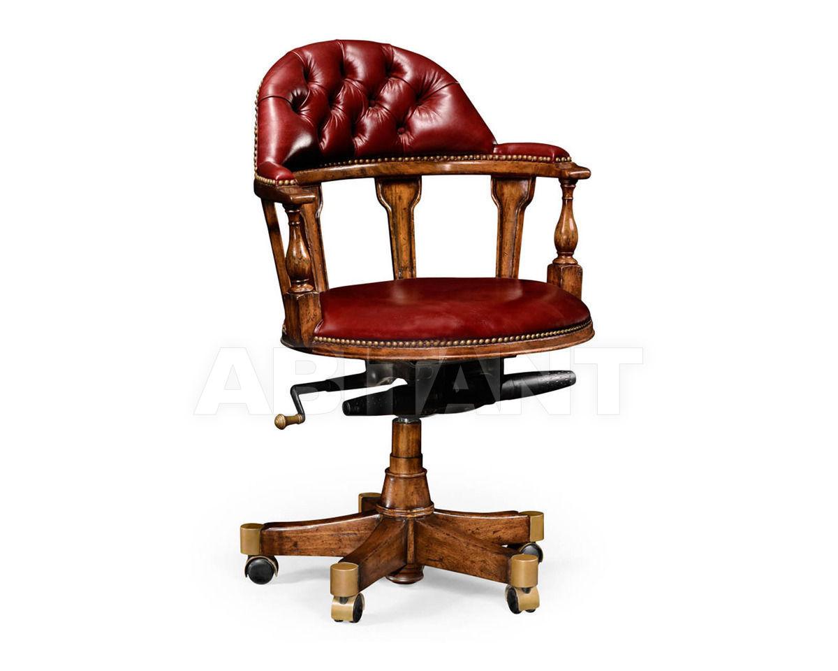 Купить Кресло для кабинета Jonathan Charles Fine Furniture Windsor 494377-WAL-L016