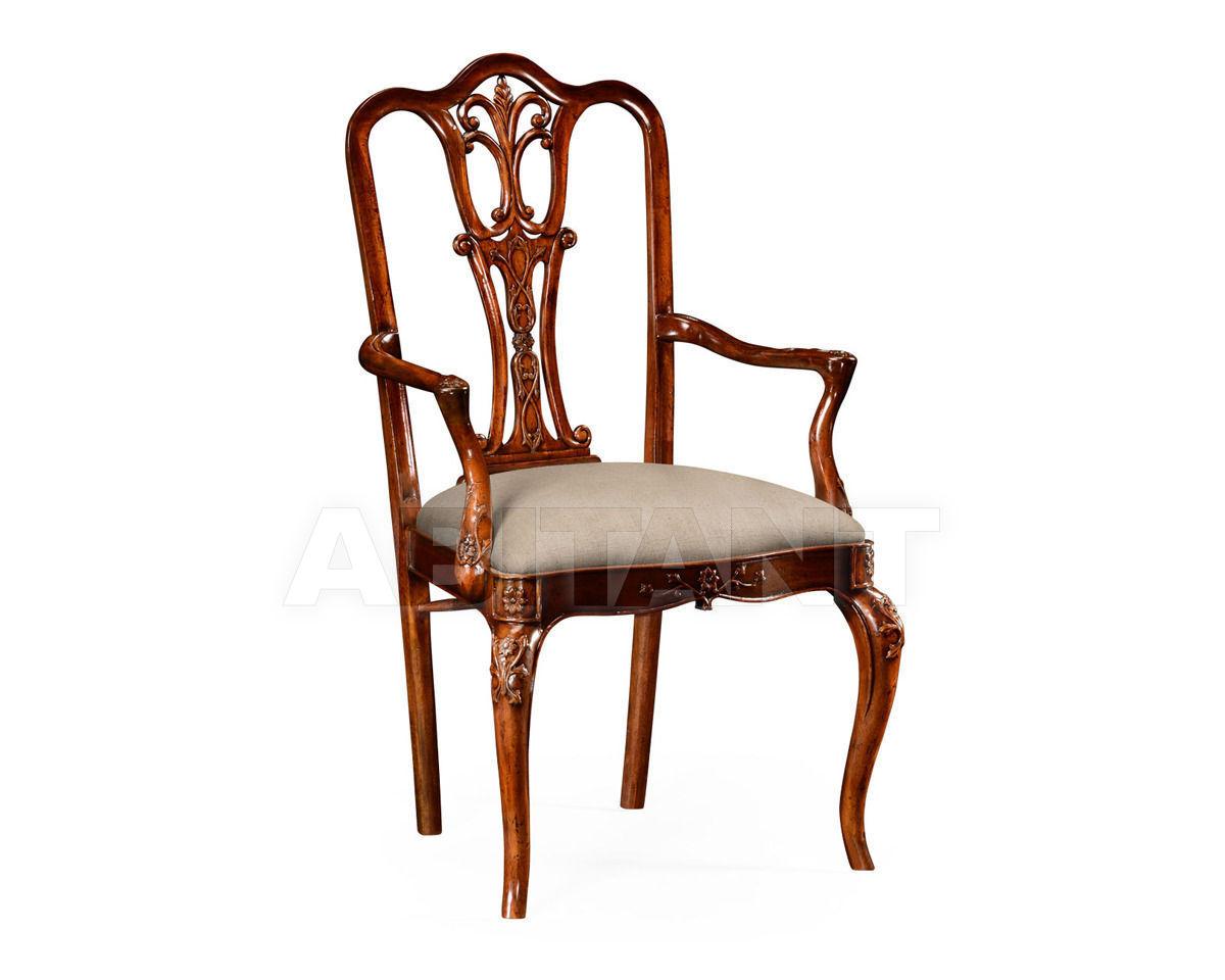 Купить Стул с подлокотниками Jonathan Charles Fine Furniture Versailles 492476-AC-MAH-F001