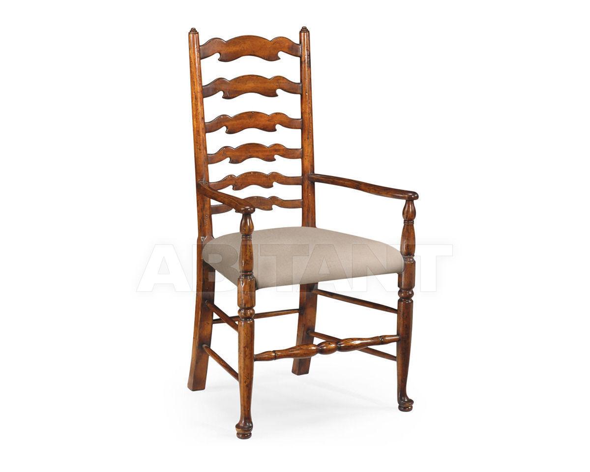 Купить Стул с подлокотниками Jonathan Charles Fine Furniture Country Farmhouse 492296-AC-WAL-F001