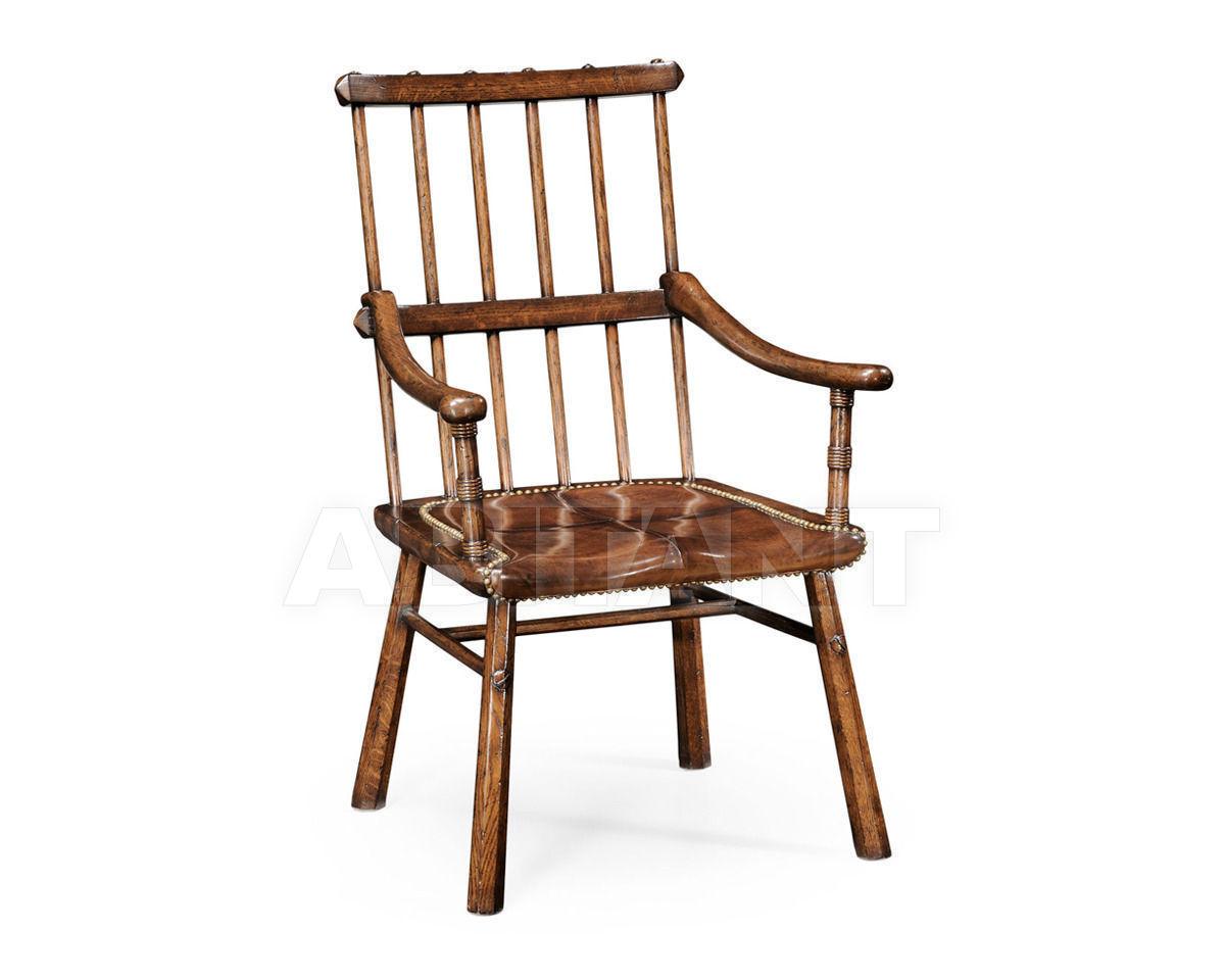 Купить Стул с подлокотниками Rustic Jonathan Charles Fine Furniture Tudor Oak 494008-AC-TDO