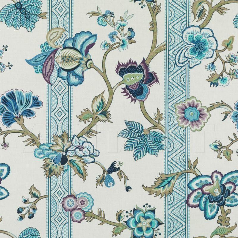 Купить Обивочная ткань MALABAR, PEACOCK Duralee Fabrics Ltd. Bailey & Griffin 200010H 23