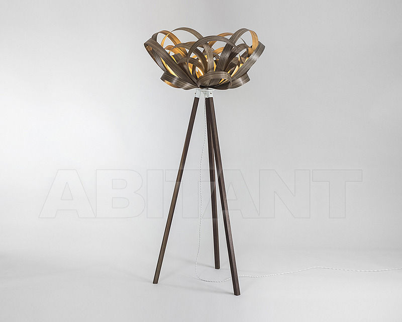 Купить Лампа напольная Tom Raffield Ltd Floor Standing TR-BLM-WDFLR-W