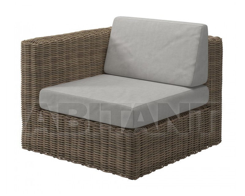 Купить Кресло для террасы Gloster Furniture Limited Havana Modular 440A WSG