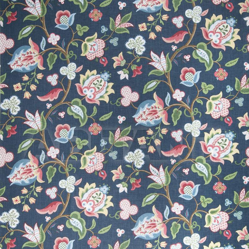 Купить Интерьерная ткань Crape Myrtle Blueberry Fabricut Nuances Linen & Cotton 0396303